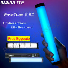 Nanlite PavoTube II 6C CRI Hot shoe hand held 2700-7500K photography LED light