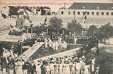 CURACAO SIEMBRA DEL ARBOL DE ORANGE FRENTE A LA CANTINA MILITAR CURACAO 1908/5/1