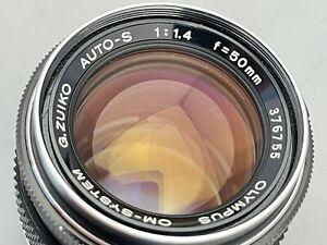 Olympus OM 50mm f1.4 G Zuiko Auto-S Lens