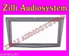 Phonocar 3/470 Cornice montaggio radio doppio din argento satinato Astra H 04>10