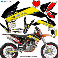 2012 2013 KTM EXC EXC-F EXCF XCFW 350 500 GRAPHICS KIT DECO DECALS STICKERS