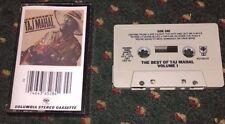 """Taj Mahal """"The Best of Taj Mahal Volume I"""" CASSETTE PCT 36528 *VG+ to NM-*"""