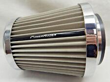 "Spectre 9735 Turbo Air Intake Filter 4"" 3.5"" 3"" 102 89 76mm inlet Stainless Mesh"