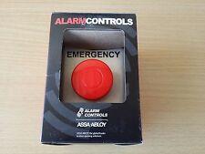"New Alarm Controls PBL-1 Alarm Controls Large 1½"" Red Mushroom Button"