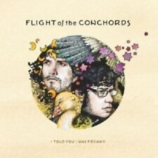 Flight Of The Conchords - I Told You I Was Freaky  Vinyl LP  Pop Rock  NEW+