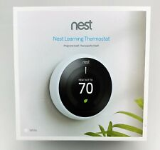 Nest 3rd Gen Learning White Programmable Thermostat In Box Fair