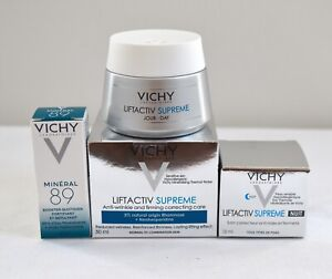 Vichy Liftactive Supreme Day Cream Normal To Combination Skin 50 ml + Free Gifts