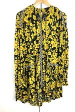 Free People love letter oversized floral tunic dress S