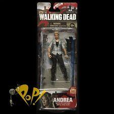 WALKING DEAD Series 4 ANDREA amc TV SHOW Action Figure McFARLANE!