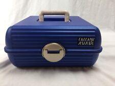 Sassaby Blue Make up Cosmetic Jewelry Case Organizer Storage