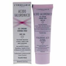 Hyaluronic Acid Facial Cc Cream Spf 20 - Honey Hue by Lerbolario - 1.6 oz Makeup