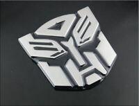 Autobot Hot Energy 3D Logo Protector Autobot Transformers Emblem Badge Graphics Decal Car Sticker