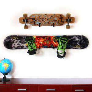 Skateboard Wandhalterung Longboard Snowboard Wandmontage Befestigung Zubehör