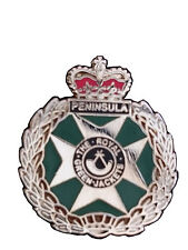 Royal Green Jackets Lapel RGJ Military Badge