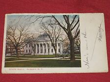 1904 State Hall, Albany, NY Postcard Posted VG