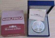 Frankreich 10 Euro 2010 Mutter Teresa Silber