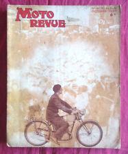 MOTO REVUE n° album Salon octobre 1937
