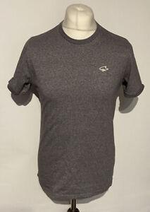 Le Shark Men's T Shirt Grey Medium 100% Cotton Short Sleeve