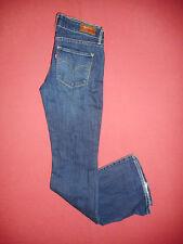 LEVI'S Demi Curve Boot Ladies Blue Denim Jeans - Waist 26 Leg 32 - K881