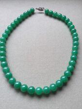 Jade Kette Kugelkette Grüne Jade Ca 47cm