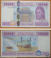 Eccas Equatorial Guinea Banknote (F) 10000 Francs Uncirculated