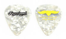 Sugarland White Pearl Winged Heart Guitar Pick - 2008 Tour