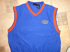 NCAA Florida University Gators Football EMBROIDERED ADULT L V NECK Jacket NICE