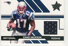 2006 LEAF ROOKIES & STARS CHAD JACKSON JERSEY RC /799