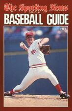1982 TSN Official Baseball Guide - Softcover - Tom Seaver Cover