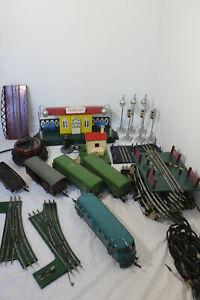 RARE USSR MOSKABEL Pionerskaya Railway Toy Set Engine Russian Railroad Train