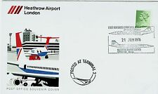 FDC-CONCORDE-PREMIER VOL COMMERCIAL-HEATHROW AIRPORT-LONDRES-21 JANVIER 1976