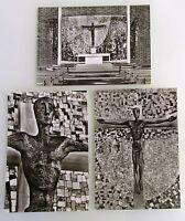 BADENWEILER Postkarten Lot 3x s/w Ansichtskarte Pfarrkirche St. Peter Kirche