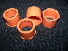 "Spears Round CPVC SCH 80 Bushing Orange 1 1/2"" X 1 1/4"" 4 ea. # 4237-212 New"