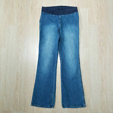 Motherhood Maternity Denim Jean S Elastic Waistband Belly Panel Comfy