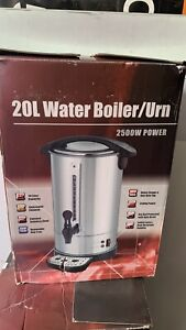 20l Tea Urn Electric Catering Hot Water Boiler Coffee Stainless Steel