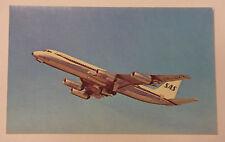 SAS Scandinavian Airlines Convair 990 Coronado Airplane Aviation Postcard