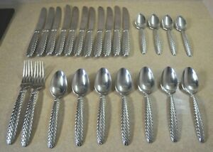 24 ~ Ralph Lauren Japan Stainless Steel Flatware *EQUESTRIAN BRAID