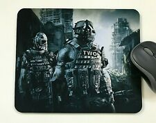 Mouse Mat Pad Laptop Desktop Office Army of Two made in UK choose size