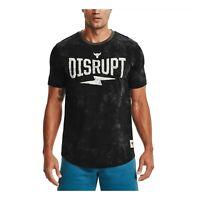 Under Armour Men's Sports T-shirt Project Rock Disrupt Short Sleeve 1357189-001