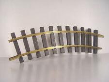 1 PEZZI BINARIO CURVO R 1-resistente alle intemperie-PIKO Traccia G 35211 # E