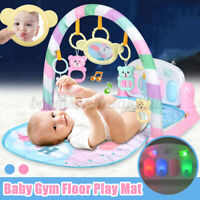 3in1 Fitness+Music+Light Baby Gym Climb Play Mats Fun Piano Infant Newborn Gift