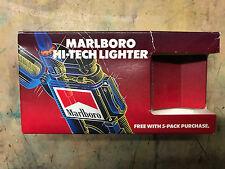 VINTAGE 1990'S MARLBORO COMPANY PLASTIC CIGARETTE LIGHTER NIB!
