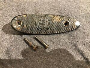 Winchester 67 68 72 69 69A Butt Plate w Screws