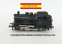LOCOMOTORA MARKLIN 89005 ESCALA HO TRENES MODELISMO FERROVIARIO VAGONES VÍA TREN