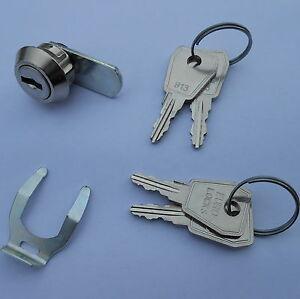 Briefkastenschloss Zylinderschloß mit 2 , 3 ,4 ,6 oder 8 Schlüssel Ersatzschloß