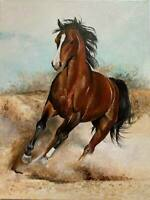 CHOP1213  100% handmade painted Magical animal horse oil painting art on canvas