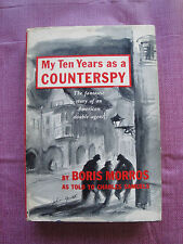 My Ten Years As A Counterspy By Boris Morros - Signed - Viking Press 1959
