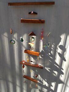 Suncatcher Mobile Gemstone sculpture