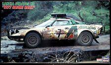Hasegawa CR36 1/24 LANCIA STATOS HF 1977 Safari Rally Limited Ver.fromJapan Rare