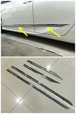 2016-2017 Toyota Prius For ABS Chrome Side Door Body Molding Mouldings Trim 4PCS